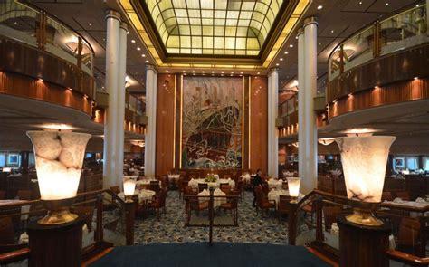 Britannia Dining Room Qm2 Forget Flying Take A 2 Transatlantic Cruise