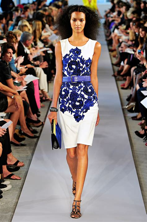 New York Fashion Week Oscar De La Renta by New York Fashion Week Oscar De La Renta Summer Rtw