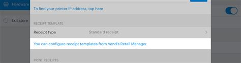 vend receipt template receipt templates for the vend register app how can