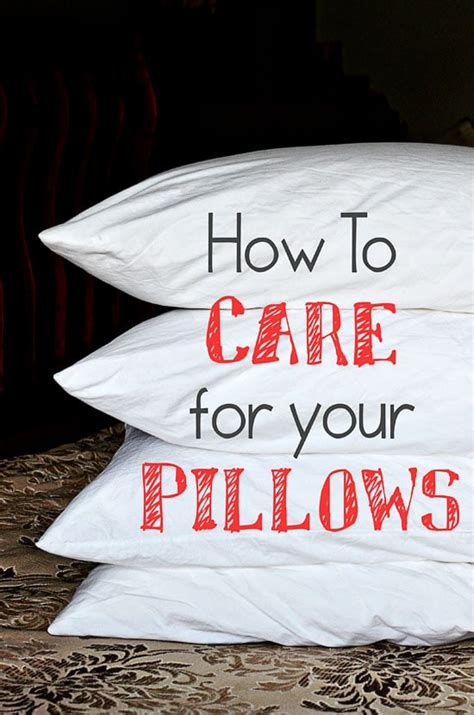 How To Wash Pillows by How To Wash Pillows