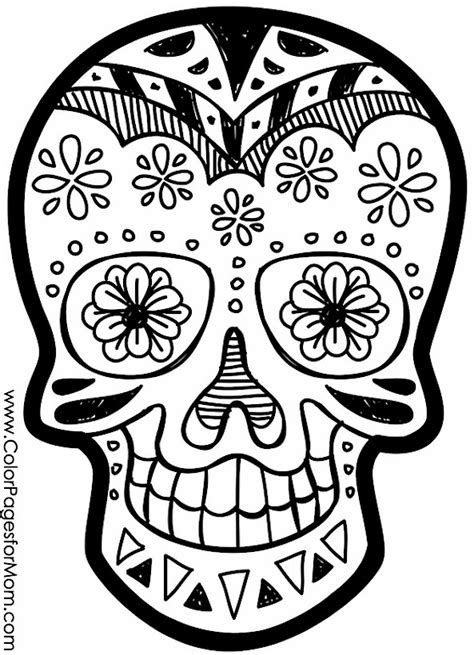 coloring pages halloween skulls advanced coloring pages halloween skull coloring page