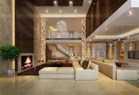 luxurious modern living room interior 3d model living room staircase 3d model cgtrader
