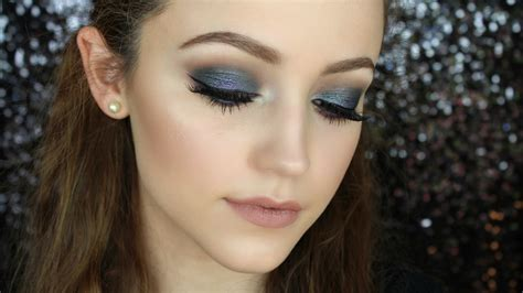 youtube tutorial eyeshadow blue smokey eye makeup tutorial youtube