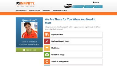 Infinity Auto Claims by Claims Infinityauto Website Review For Claims