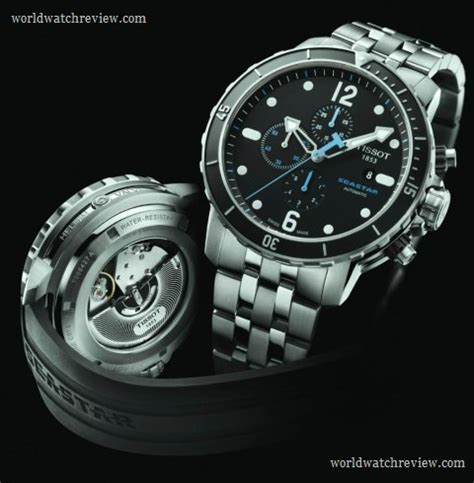 tissot dive watches tissot seastar 1000 automatic chronograph diver world