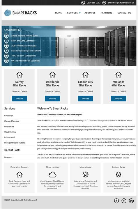 News Section Website Design by Smartracks Web Design Portfolio