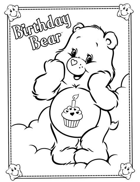care bears 33 coloringcolor com