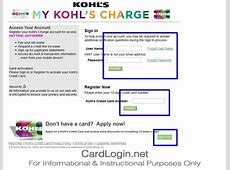 Kohl's Charge   How to Login   How to Apply   Guide Kohl's Charge Card Login
