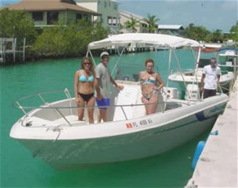 fly key largo boat rental florida keys fishing boat rentals 22 center console