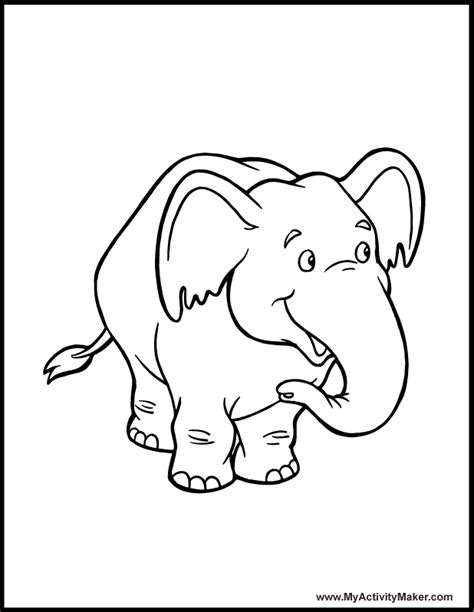 elephant pattern coloring pages free coloring pages of elephant with patterns