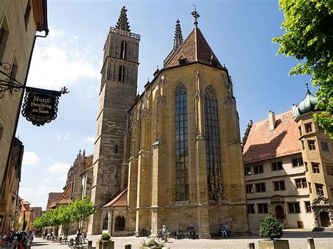 PHOTO: St. James Church in Rothenburg @VikingRiver