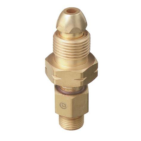 Regulator Adaptor thoroughbred industrial cylinder exchange cga 510 valve to
