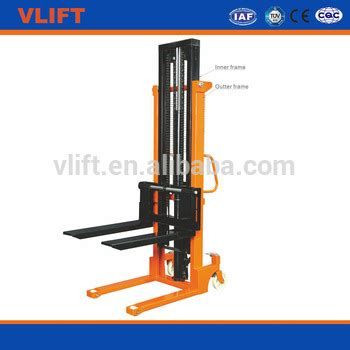 Stacker Manual Kap 1 5ton Lifting 2 5mtr New 2 ton manual stacker with mast structure buy hydraulic lift stacker manual