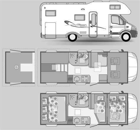 adria floor plan related keywords suggestions for rv blueprints