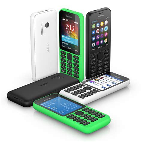 nokia new phones 2015 ces 2015 microsoft revives nokia phones with 29 nokia 215