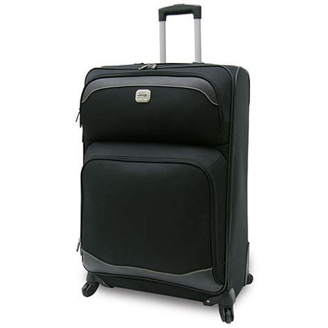 jeep luggage jeep 25 quot expandable spinner upright luggage luggage