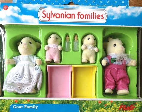 Sylvanian Families Original 5185 Goat Family nettlefield goat family sylvanian families sylvanian families