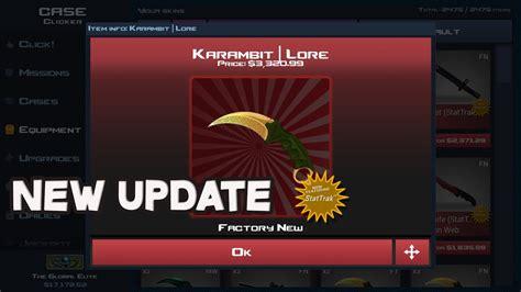 popular news updates best case clicker update new knives youtube