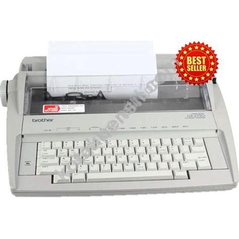 Mesin Ketik Gx 8250 13 Inch jual mesin tik gx 6750 9 quot a4 tiduran murah