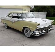 1956 Ford Fairlane 2 Door Club Sedan  FORD 1955 Pinterest