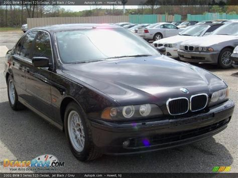 2001 bmw 525i 2001 bmw 5 series 525i sedan jet black grey photo 2