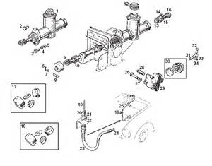 Mgb Brake System Diagram Mgb Clutch Hydraulic System
