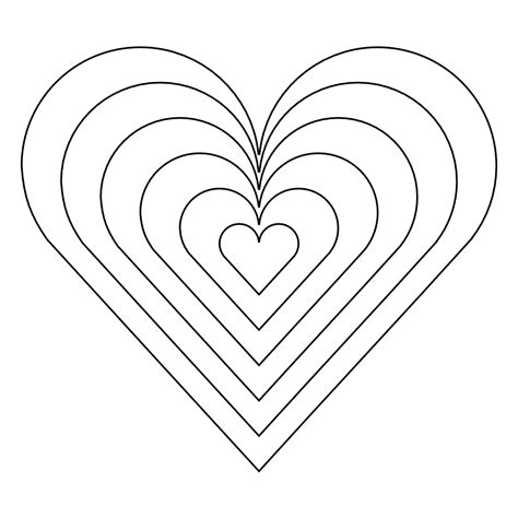 clipart heart coloring page clipartist net 187 clip art 187 color heart black white line