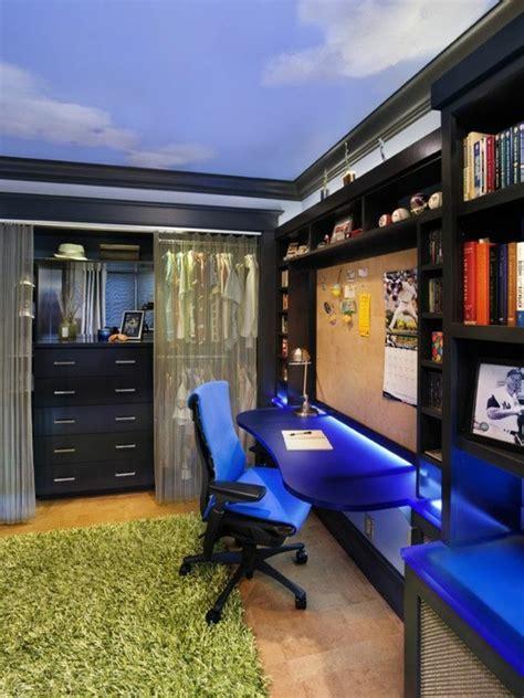 chambre ado garcon chambre d ado garcon avec meuble en noir tapis vert
