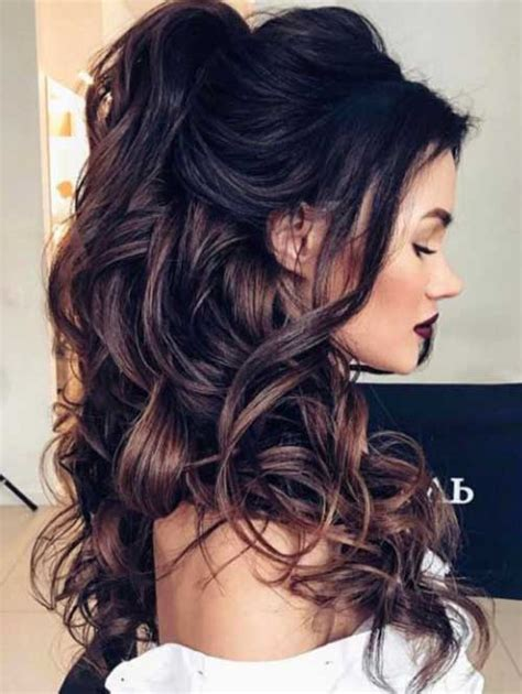 hairstyles for long hair upstyles 20 nice half up styles you will love long hairstyles