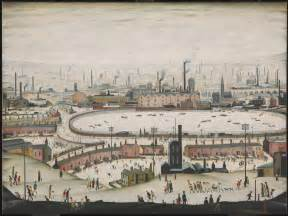 Industrial L by The Pond L S Lowry Tate