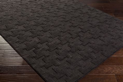 Surya Contemporary Rugs charcoal area rug roselawnlutheran