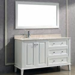 offset bathroom sink bathroom vanities with offset sinks ayanahouse