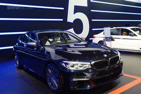 fastest bmw model fastest bmw 5 series comes to new york auto show