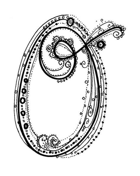 letter o tattoo designs fancy alphabet