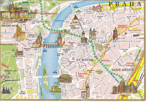 printable map prague prague city map printable usa maps us country maps