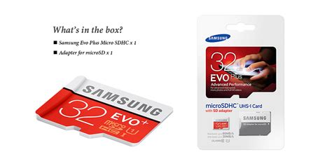 Samsung Micro Sd Evo Uhs I 32gb 80mb S Original 99 Memori Card samsung micro sdhc evo plus uhs i card 32gb 20mb s 80mb s with sd adapter class 10 lazada