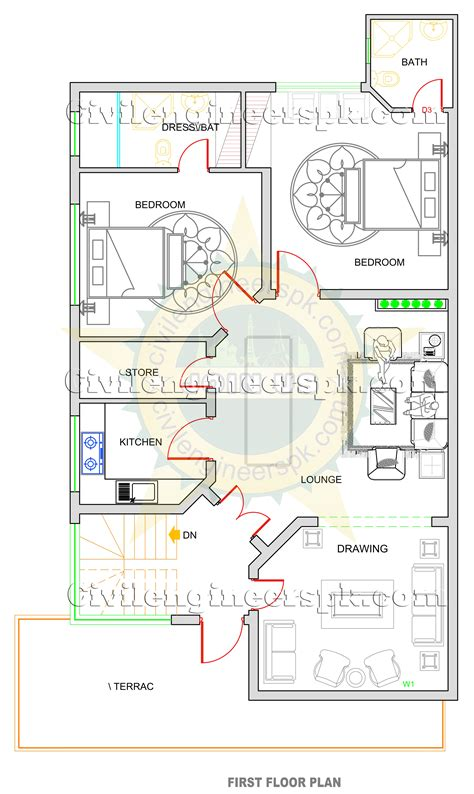 home maps design 10 marla new 10 marla house design civil engineers pk