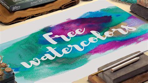 watercolor logo maker   getdrawings