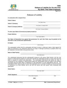 liability release form template doc 12751650 general release of liability form template