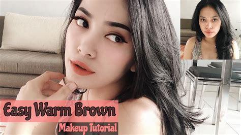 Make Up Untuk Pemula make up murah untuk pemula bernuansa coklat easy warm