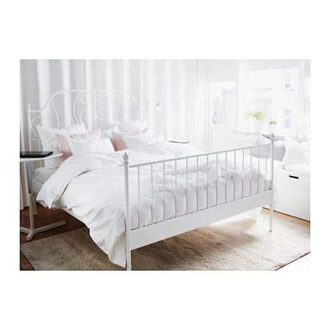 leirvik bed frame hack leirvik bed frame white l 246 nset standard king ikea