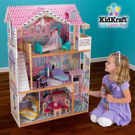 kid kraft doll house annabelle dollhouse kidkraft 65079