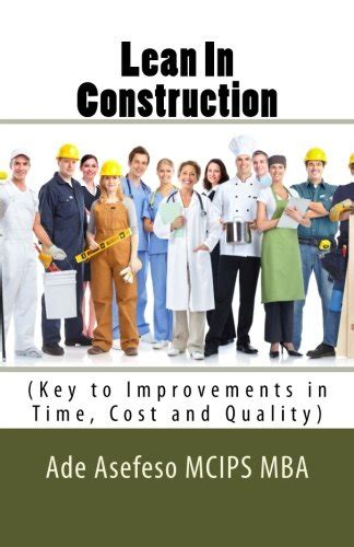 Construction Mba Book by Biography Of Author Mr Ade Asefeso Mcips Mba Booking