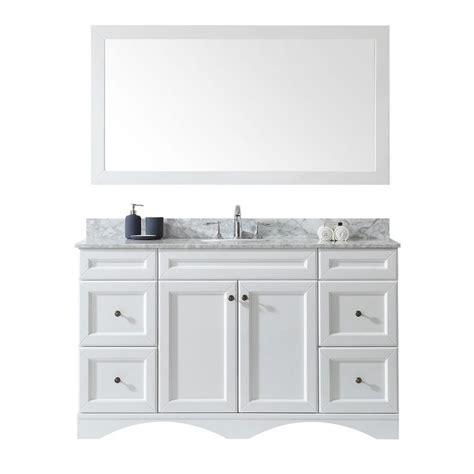 virtu usa talisa 60 in w x 22 in d single vanity in