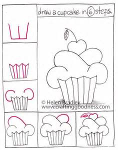 How To Draw A Easy Best 25 How To Draw Cupcakes Ideas On How To