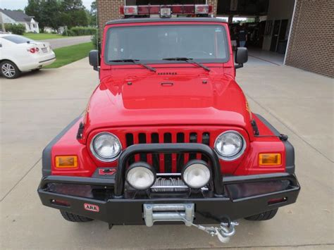 jeep wrangler firefighter lights 2005 jeep wrangler sport brush unit for sale quot sold