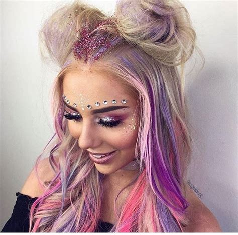 hairstyles for rave party 350 best images about rave makeup on pinterest edc