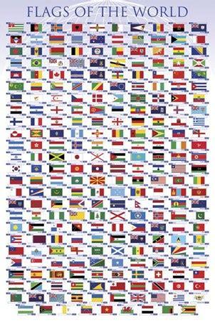 flags of the world to buy flags of the world educational chart poster buy online