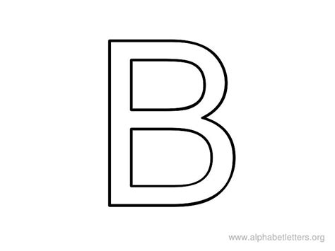 printable alphabet letter b letter b coloring pages preschool and kindergarten