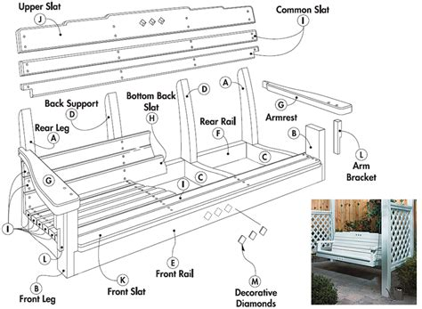 porch swing plans woodwork city  woodworking plans